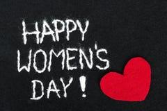 Filzhintergrund für den Tag der Frauen Stockfoto