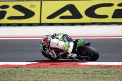 "FIM超级摩托车世界冠军†""种族1 图库摄影"