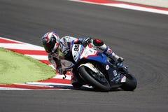 FIM超级摩托车世界冠军-种族2 免版税库存照片