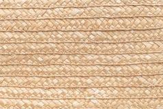 Fim acima da textura da cesta de vime para o uso como o fundo Textura tecida da cesta foto de stock royalty free