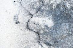 Fim acima de fundo textured do cimento rachado fotografia de stock