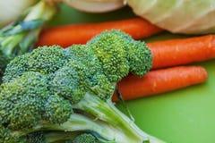 Fim acima do produto vegetal orgânico cru fresco Fotografia de Stock Royalty Free