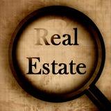 Fim-acima dos bens imobiliários Fotos de Stock