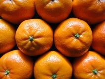 Fim acima/opinião macro as laranjas Foto de Stock