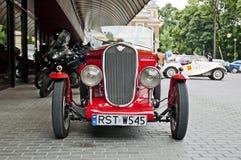 Fim-acima retro do carro Fotos de Stock Royalty Free