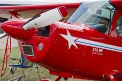 Fim Aerobatic vermelho do plano de Austrália acima Imagem de Stock Royalty Free