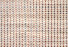 Fim asiático colorido da superfície do weave do estilo acima Foto de Stock Royalty Free