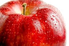 Fim bonito acima da maçã Foto de Stock Royalty Free