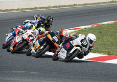 FIM CEV REPSOL EUROPEAN CHAMPIONSHIP - MOTO 3 RACE Stock Photography