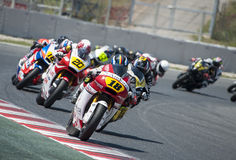 FIM CEV REPSOL EUROPEAN CHAMPIONSHIP - MOTO 2 RACE Royalty Free Stock Photography