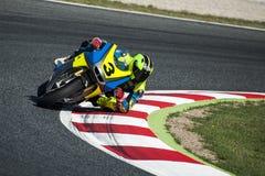 FIM CEV REPSOL EUROPEAN CHAMPIONSHIP - MOTO 2 RIDER DIEGO PEREZ Stock Photography