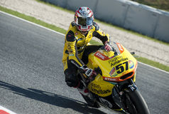 FIM CEV REPSOL EUROPEAN CHAMPIONSHIP - MOTO 2 RIDER EDGAR PONS Royalty Free Stock Photography