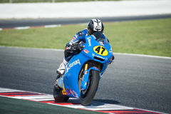 FIM CEV REPSOL EUROPEAN CHAMPIONSHIP - MOTO 2 RIDER MARC BUCHNER Royalty Free Stock Photography