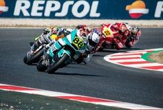 FIM CEV Repsol MOTO 2赛 免版税库存图片
