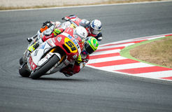 FIM CEV REPSOL - MOTO 2 Stock Photography