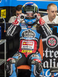 FIM CEV REPSOL - MOTO 3 Stock Photos