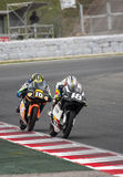 FIM CEV REPSOL - MOTO 3 Royalty Free Stock Photo