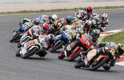 FIM CEV REPSOL - MOTO 3 Royalty Free Stock Images