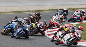 FIM CEV REPSOL - MOTO 3 Stock Photography