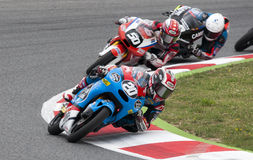 FIM CEV REPSOL - MOTO 3 Royalty Free Stock Photography