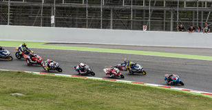 FIM CEV REPSOL - MOTO 3 Stock Photo