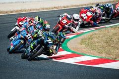 FIM CEV REPSOL. MOTO 3 RACE Stock Photography