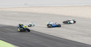 FIM CEV REPSOL - MOTO 2 RACE START Royalty Free Stock Photography