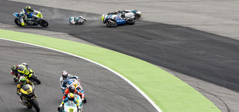 FIM CEV REPSOL - MOTO 2 RACE START Royalty Free Stock Photo