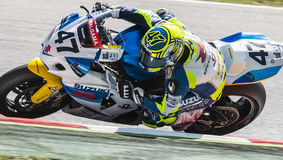 FIM CEV REPSOL - SUPERBIKES Royalty Free Stock Images