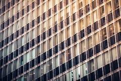 Fim comercial moderno da construção acima da vista Imagens de Stock
