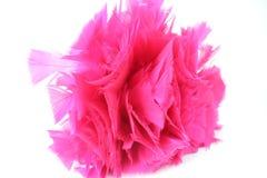 Fim cor-de-rosa brilhante do espanador da pena acima Imagem de Stock