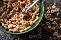 Fim da bacia de cereal acima Foto de Stock