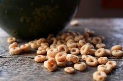 Fim da bacia de cereal acima Imagem de Stock