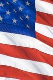 Fim da bandeira americana acima Imagens de Stock Royalty Free