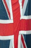 Fim da bandeira de união Imagens de Stock