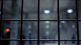 Fim da cerca de fio acima Barreira do metal Cerca de aço Fundo do fio Corrente 2 filme