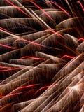 Fim da explosão do fogo de artifício acima Imagens de Stock
