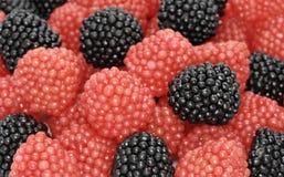 Fim da geléia de fruta acima Fotografia de Stock