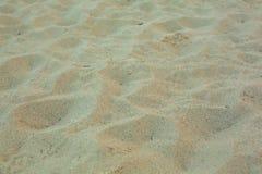 Fim da opinião da areia acima imagem de stock