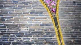 fim da rendição 3d acima da textura do zíper no fundo isolado com Fotografia de Stock Royalty Free