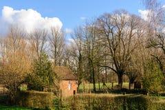 Fim da tarde em Flanders do leste Foto de Stock