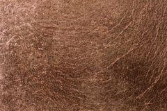 Fim da textura da liga de cobre acima, feito da prata do ouro e do cobre Fotografia de Stock