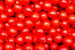 Fim da textura do tomate acima Vegetais maduros para a salada Conceito da dieta saud?vel fotos de stock royalty free