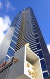 Fim da torre de Eureka acima de Southbank Melbourne Imagem de Stock Royalty Free
