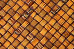Fim de bambu da mobília acima Fotografia de Stock Royalty Free