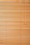 Fim de madeira do jalousie acima foto de stock royalty free