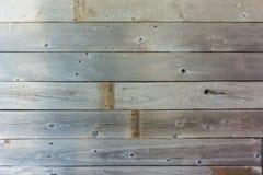Fim de madeira envelhecido liso da parede Fotos de Stock