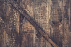 Fim de madeira velho rústico e do grunge da textura da porta acima Fotografia de Stock Royalty Free