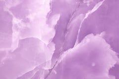 Fim de pedra de Violet Onyx acima foto de stock royalty free