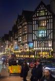 Fim de semana de Black Friday em Londres a primeira venda antes do Natal Regent Street Fotografia de Stock Royalty Free